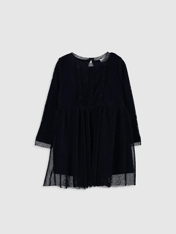 Lacivert Kız Bebek Tül Elbise 9WU361Z1 LC Waikiki