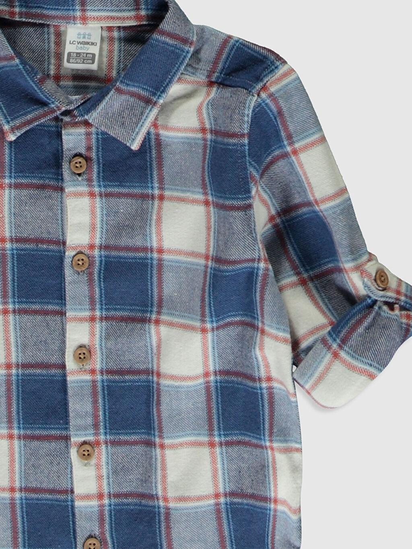 Erkek Bebek Erkek Bebek Ekose Gömlek