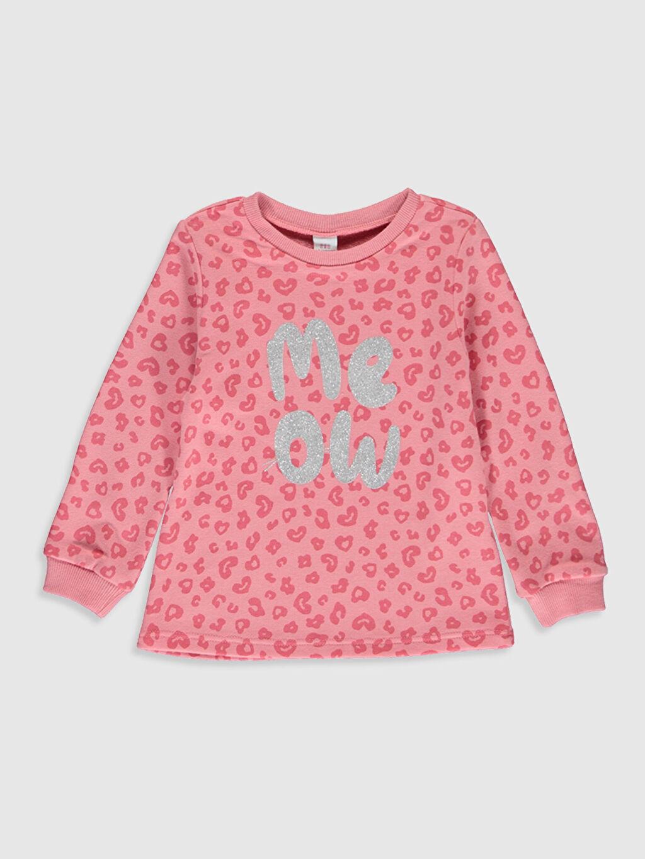 Kız Bebek Kız Bebek Desenli Sweatshirt 2 li