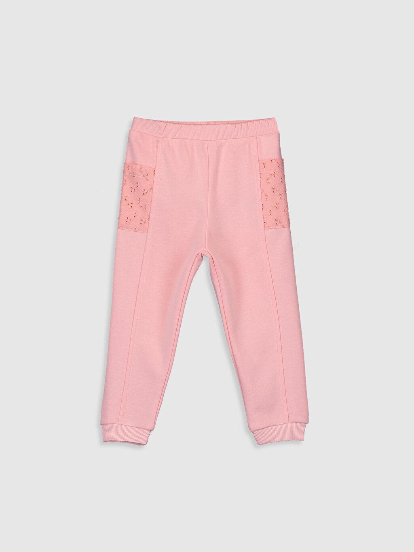 Pembe Kız Bebek Pantolon 9WV078Z1 LC Waikiki