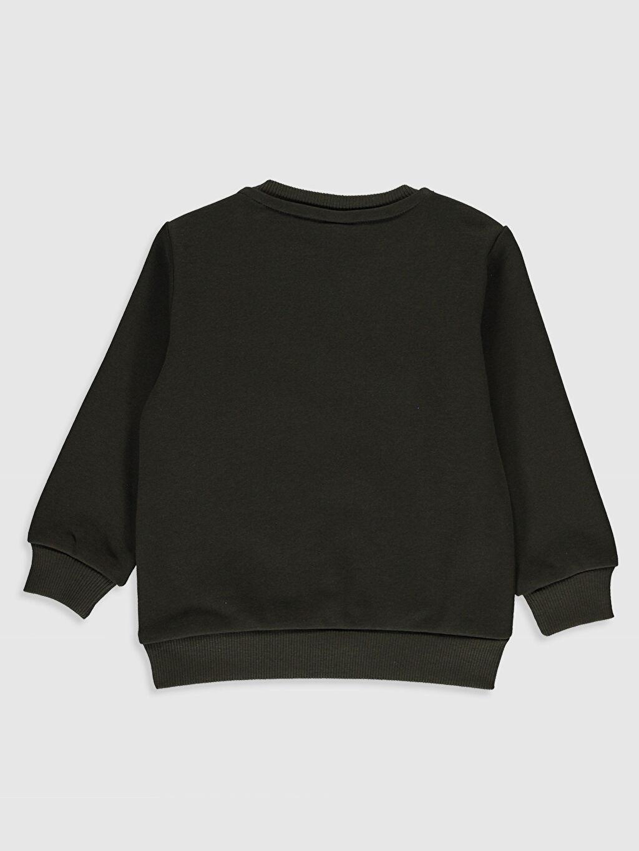 %65 Pamuk %35 Polyester  Erkek Bebek Baskılı Sweatshirt