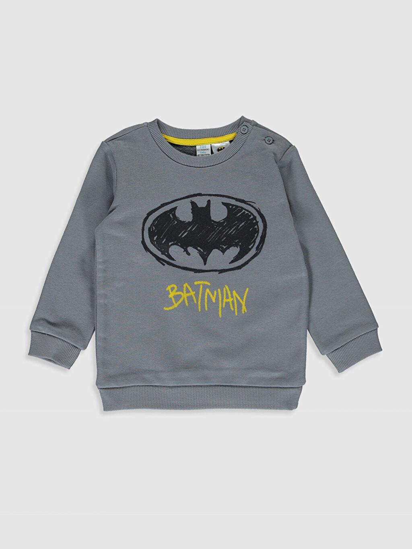 Erkek Bebek Erkek Bebek Batman Baskılı  Takım 2'li