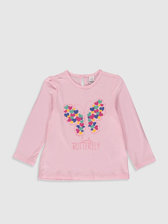 Pembe Kız Bebek Baskılı Tişört 9WV990Z1 LC Waikiki