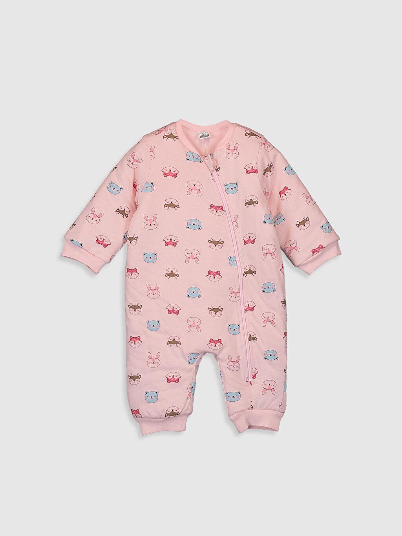 Pembe Kız Bebek Baskılı Uyku Tulumu 9WY249Z1 LC Waikiki