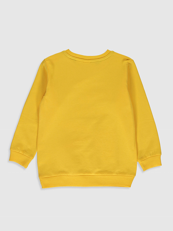 %100 Pamuk  Erkek Bebek Bugs Bunny Baskılı Sweatshirt