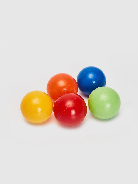 %100 Plastik  Renkli Oyun ve Havuz Topları