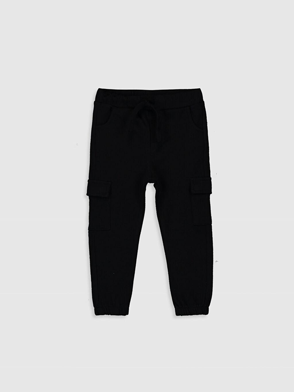 Siyah Erkek Bebek Kargo Pantolon 9WY450Z1 LC Waikiki