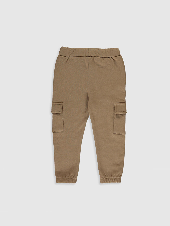 %100 Pamuk  Erkek Bebek Kargo Pantolon