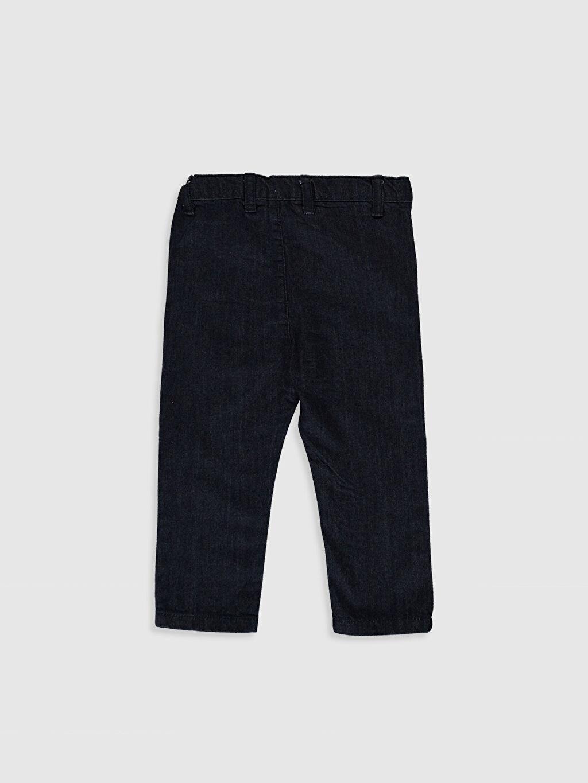 %100 Pamuk Normal Erkek Bebek Jean Pantolon