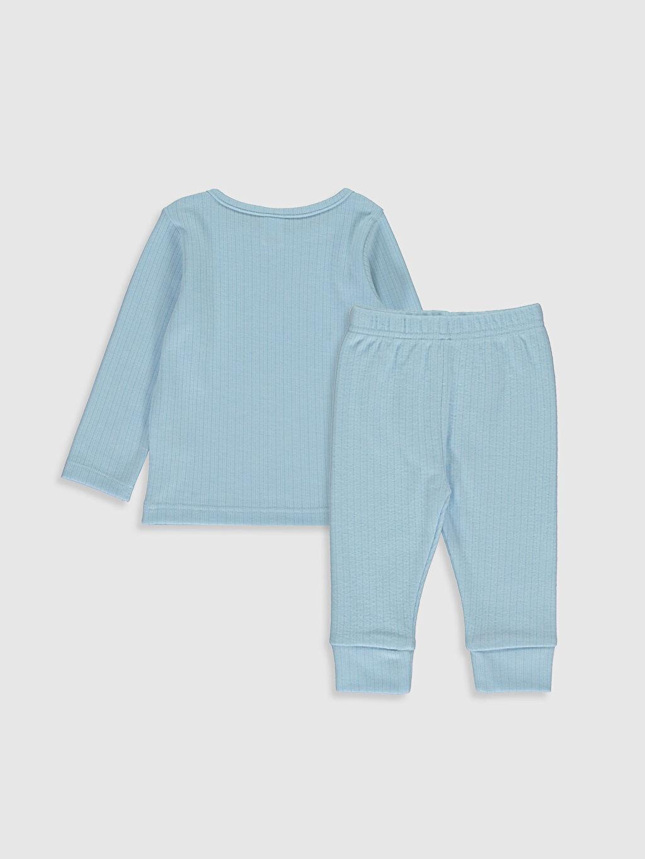 %25 Pamuk %58 Poliester %17 Viskoz %25 Pamuk %58 Poliester %17 Vıscose Standart Pijamalar Erkek Bebek Pijama Takımı