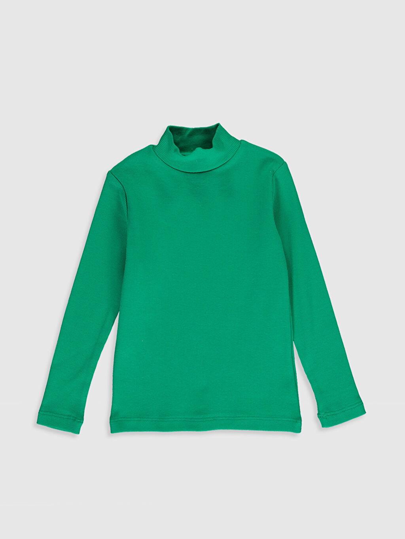 Yeşil Erkek Bebek Pamuklu Basic Tişört 9WB185Z1 LC Waikiki