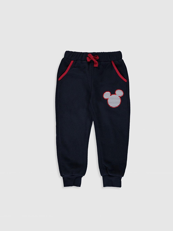 Erkek Bebek Mickey Mouse Baskılı Tişört ve Pantolon
