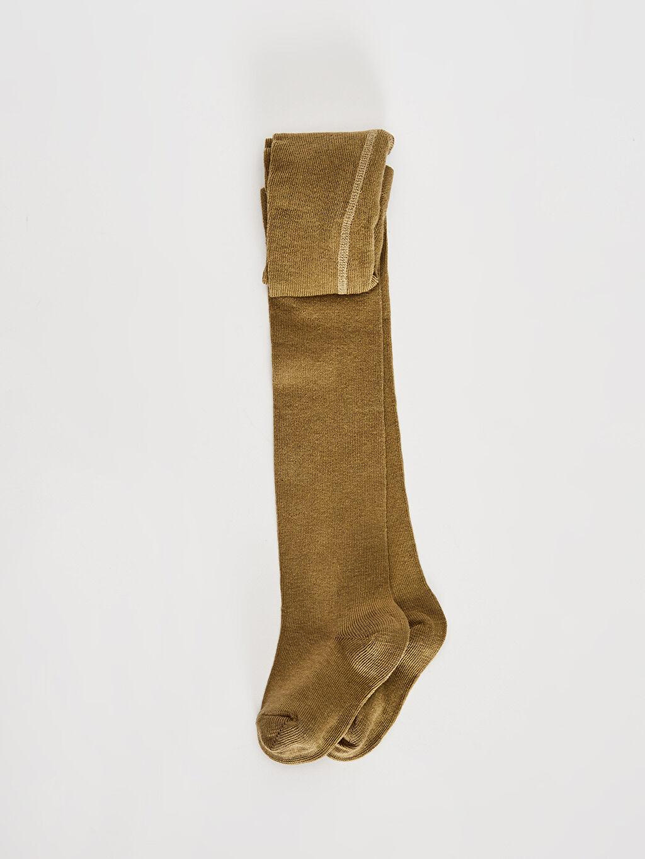 Haki Erkek Bebek Külotlu Çorap 9WB723Z1 LC Waikiki