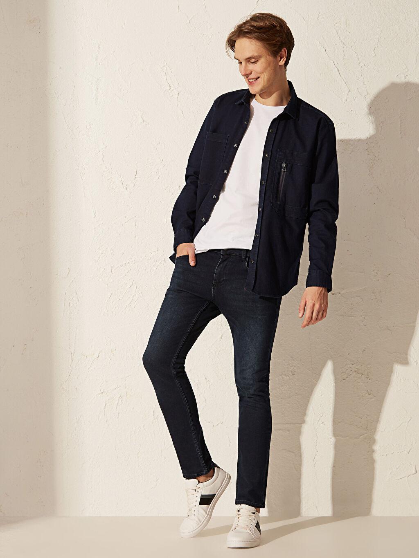 İndigo 750 Slim Fit Jean Pantolon 0S0174Z8 LC Waikiki