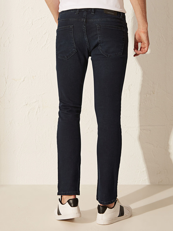 %99 Pamuk %1 Elastan 750 Slim Fit Jean Pantolon
