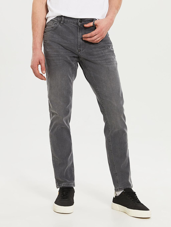 %84 Pamuk %14 Polyester %2 Elastan 779 Regular Fit Jean Pantolon