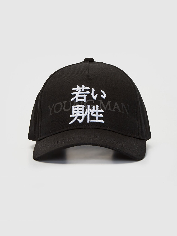 %100 Pamuk  Nakışlı Şapka