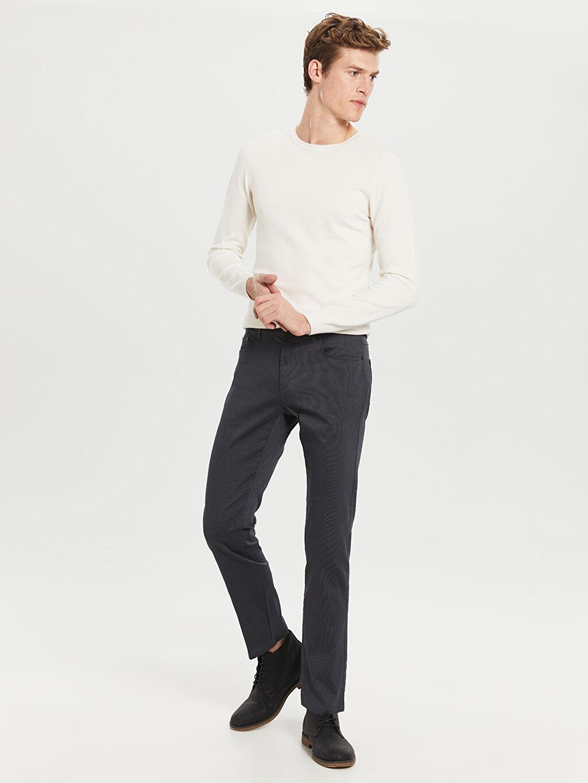 %68 Pamuk %28 Polyester %4 Elastan Normal Bel Normal Pilesiz Pantolon Normal Bel Normal Pilesiz Pantolon