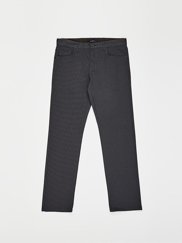 LC Waikiki Lacivert Normal Bel Normal Pilesiz Pantolon