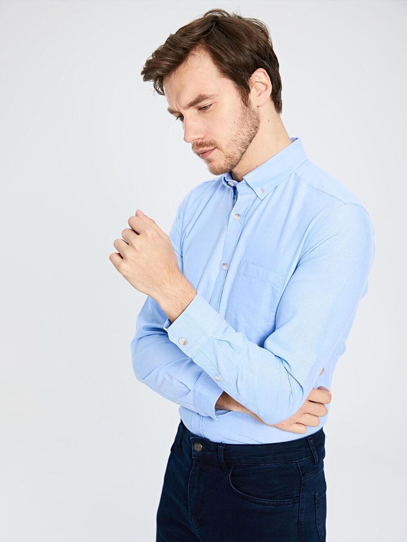 Erkek Regular Fit Basic Gömlek