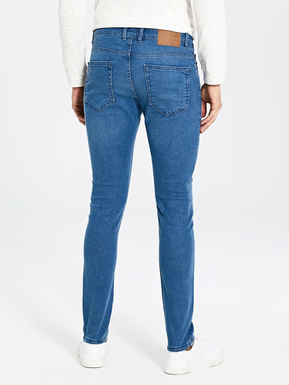 %99 Pamuk %1 Elastan 770 Super Skinny Fit Jean Pantolon