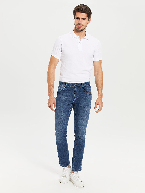 Erkek Düz Kısa Kollu Polo Tişört