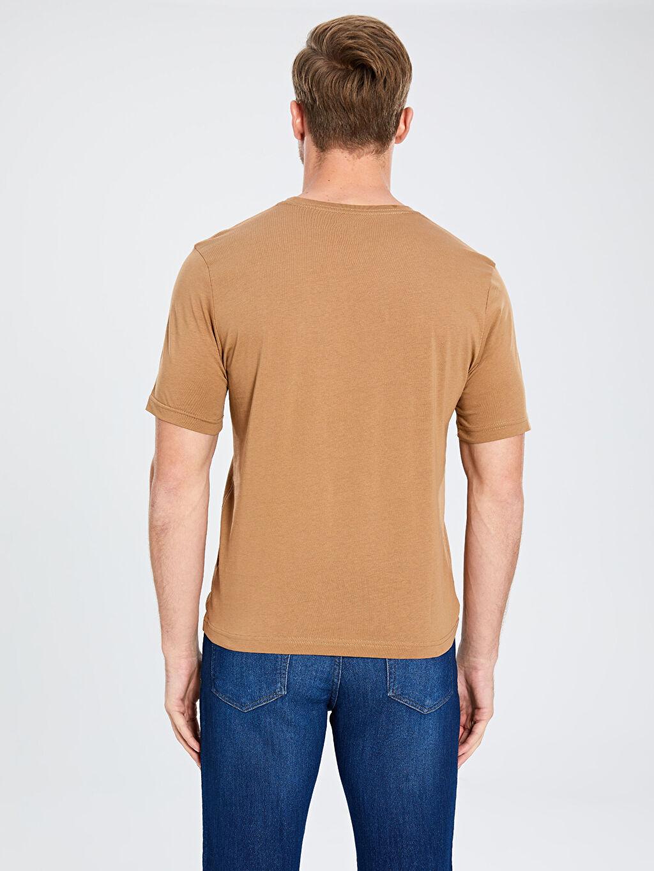 Erkek Bisiklet Yaka Basic Penye Tişört