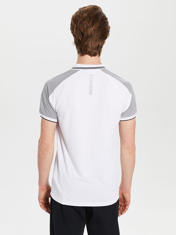 %100 Polyester Polo Yaka Aktif Spor Tişört