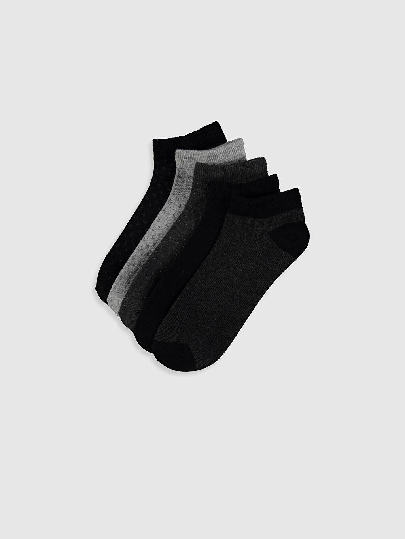 Çok Renkli Patik Çorap 5'li 0S2749Z8 LC Waikiki