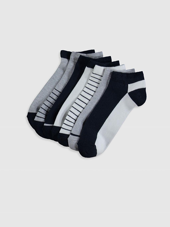 Çok Renkli Desenli Patik Çorap 7'li 0S2758Z8 LC Waikiki