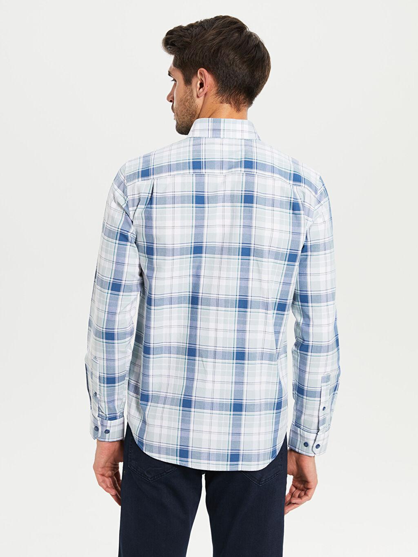 %100 Pamuk Regular Fit Ekose Oxford Gömlek