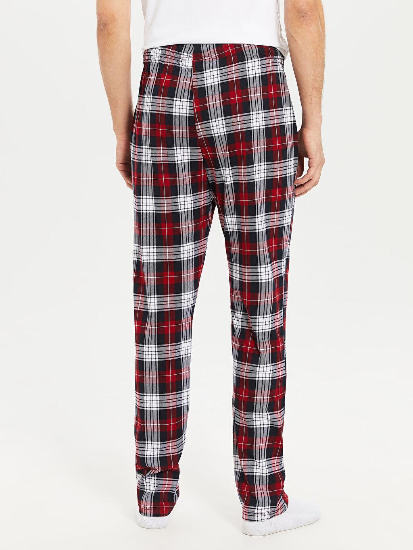 LC Waikiki Kırmızı Standart Kalıp Penye Pijama Altı