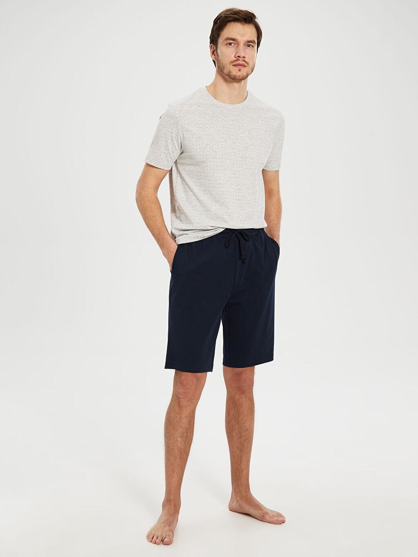 %50 Pamuk %50 Polyester Standart Pijamalar Standart Kalıp Pijama Takımı