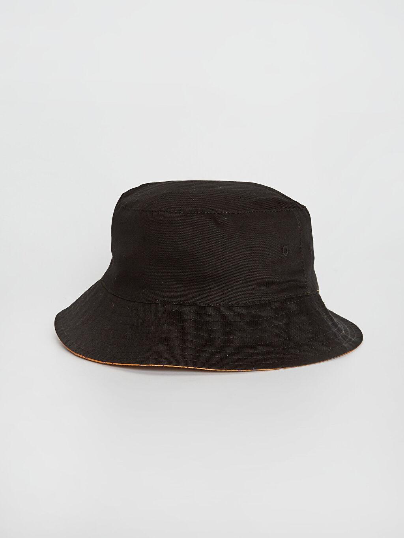 %100 Polyester %100 Pamuk  Baskılı Bucket Şapka