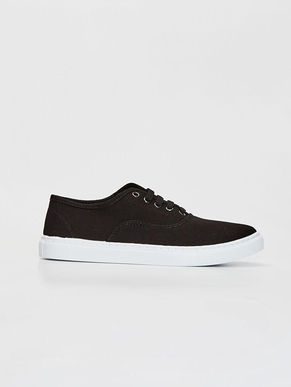 Siyah Erkek Plimsole Ayakkabı 0S4303Z8 LC Waikiki