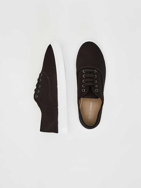 %0 Tekstil malzemeleri(%100 pamuk)  Erkek Plimsole Ayakkabı