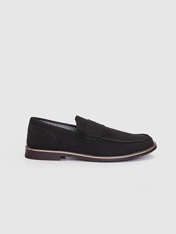 Siyah Erkek Klasik Loafer Ayakkabı 0S4306Z8 LC Waikiki