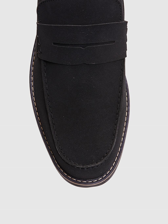 LC Waikiki Siyah Erkek Klasik Loafer Ayakkabı