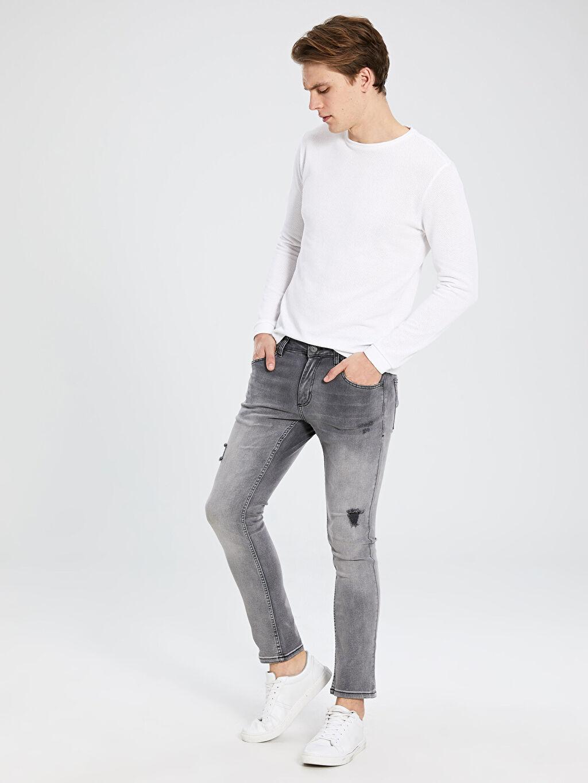 Gri 750 Slim Fit Jean Pantolon 0S4720Z8 LC Waikiki