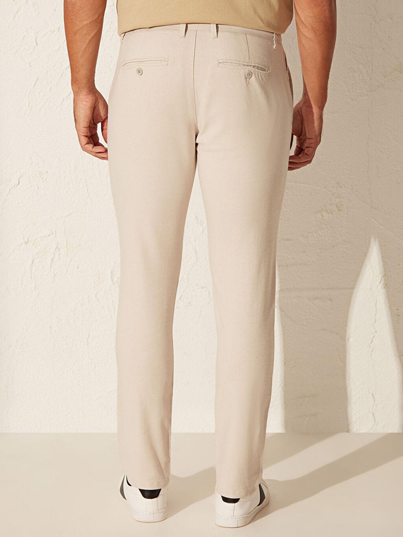 %95 Pamuk %5 Elastan Dar Kalıp Basic Pantolon