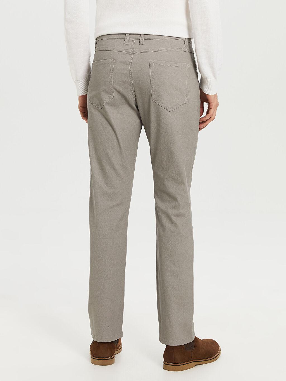 %67 Pamuk %29 Polyester %4 Elastan Regular Fit Gabardin Pantolon