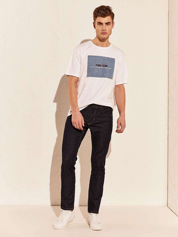 İndigo 750 Slim Fit Jean Pantolon 0S5678Z8 LC Waikiki