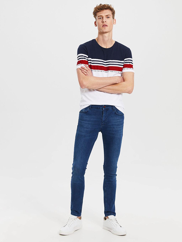 İndigo 770 Super Skinny Fit Jean Pantolon 0S5681Z8 LC Waikiki