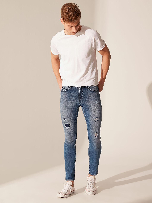 İndigo 760 Skinny Fit Jean Pantolon 0S5683Z8 LC Waikiki