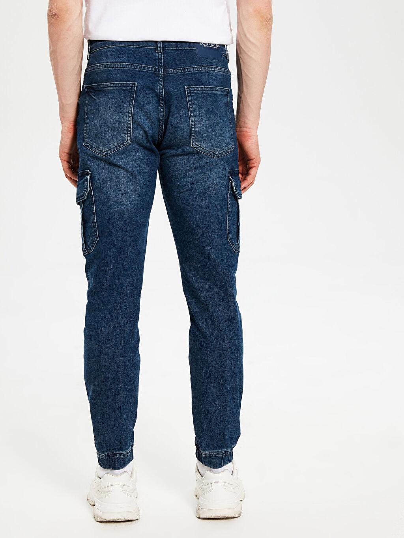 %84 Pamuk %14 Polyester %2 Elastan 780 Slim Jogger Jean Pantolon