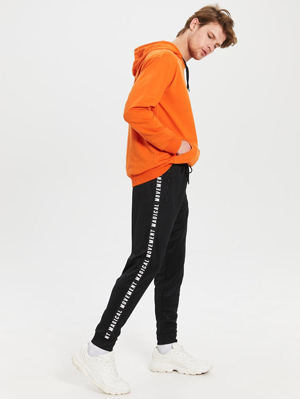 %100 Polyester  Slim Fit Jogger Eşofman Altı