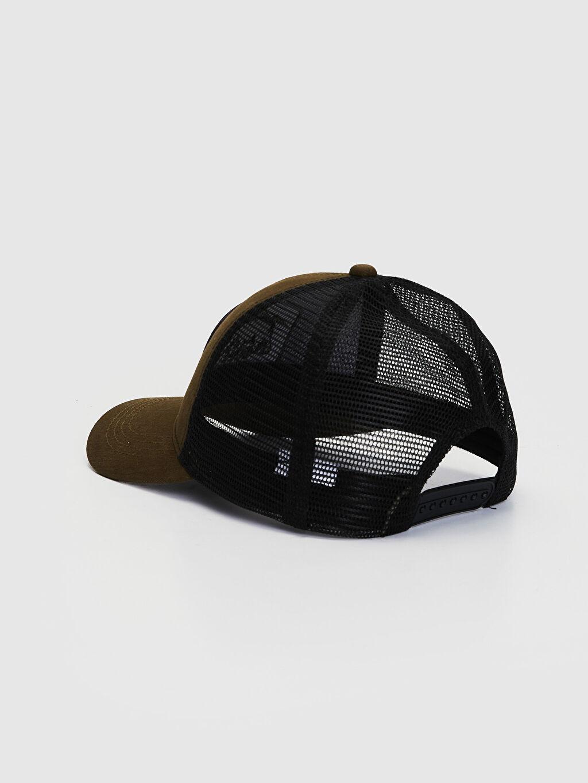 Erkek Nakışlı File Şapka