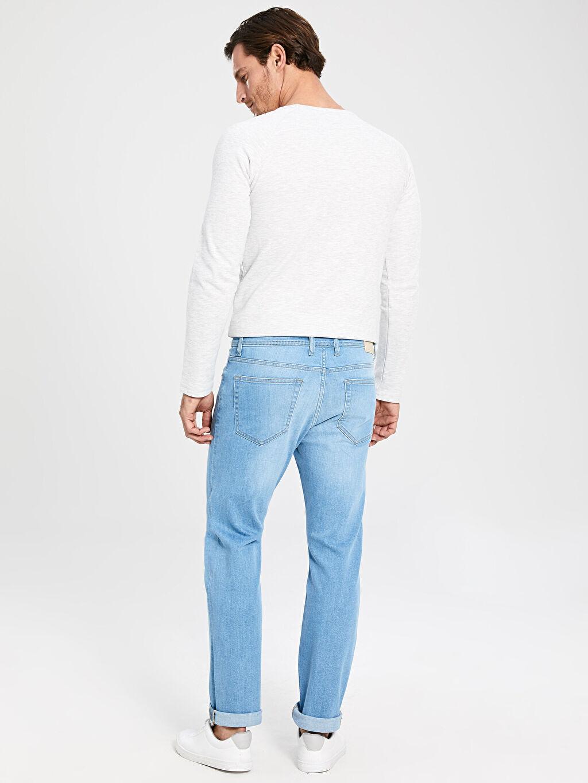 %99 Pamuk %1 Elastan 879 Regular Fit Jean Pantolon