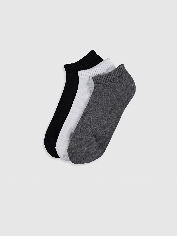 Çok Renkli Patik Çorap 3'lü 0S6092Z8 LC Waikiki