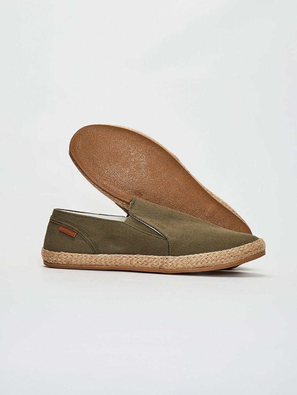 Erkek Erkek Slip On Espadril Ayakkabı
